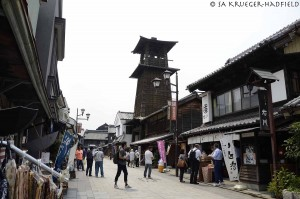 The bell tower in Kawagoe
