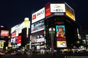 Susukino in Sapporo