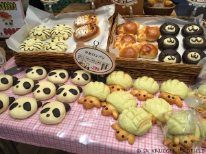 Turtles and pandas and bears ... secretly think it's ok to have charismatic macrofaunal bread!