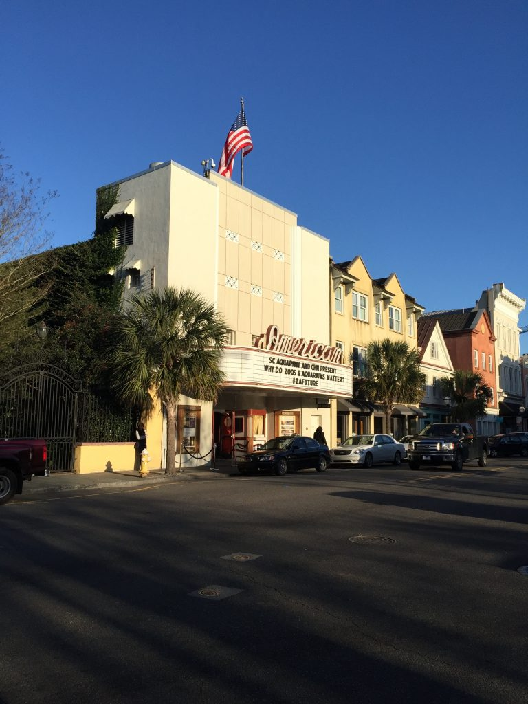 The American Theater in downtown Charleston, SC. (photo credit: SA Krueger-Hadfield)